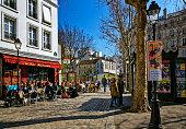 Abbesses Public Square in Paris