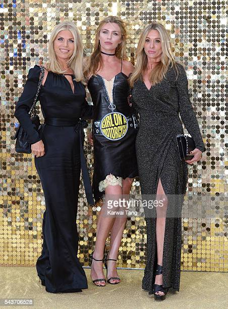 Abbey Clancy and mother Karen Clancy attend the World Premiere of 'Absolutely Fabulous The Movie' at Odeon Leicester Square on June 29 2016 in London...