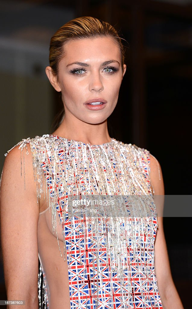 Abbey Clancy attends a Fashion for the Brave photocall in support of the British Forces at war at The Dorchester on November 8, 2013 in London, England.
