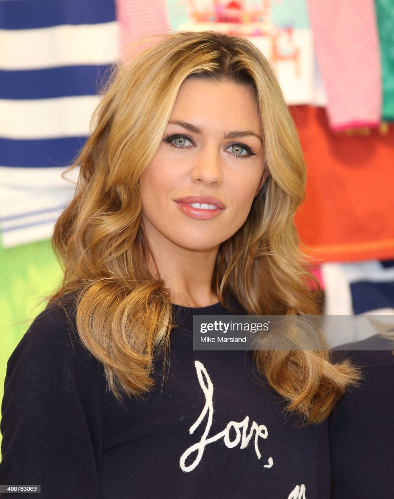 Abbey Clancy attends a photocall to launch the M&S 'Love, Mum' shwopping campaign in conjunction with Oxfam at Marks & Spencer Marble Arch on February 4, 2014 in London, England.