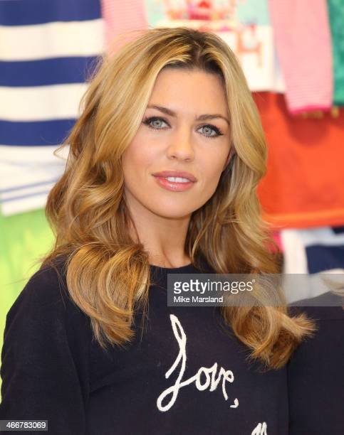 Abbey Clancy attends a photocall to launch the MS 'Love Mum' shwopping campaign in conjunction with Oxfam at Marks Spencer Marble Arch on February 4...