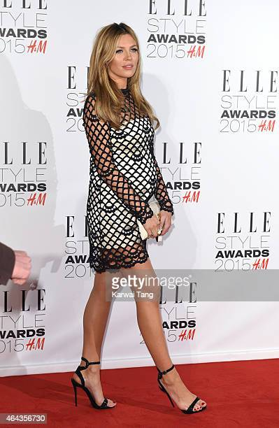 Abbey Clancy attends the Elle Style Awards 2015 at Sky Garden @ The Walkie Talkie Tower on February 24 2015 in London UK