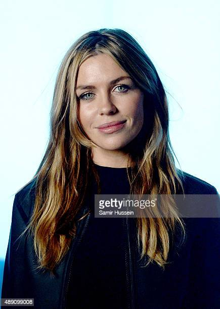Abbey Clancy attends the Hunter show during London Fashion Week Spring/Summer 2016/17 on September 19 2015 in London England