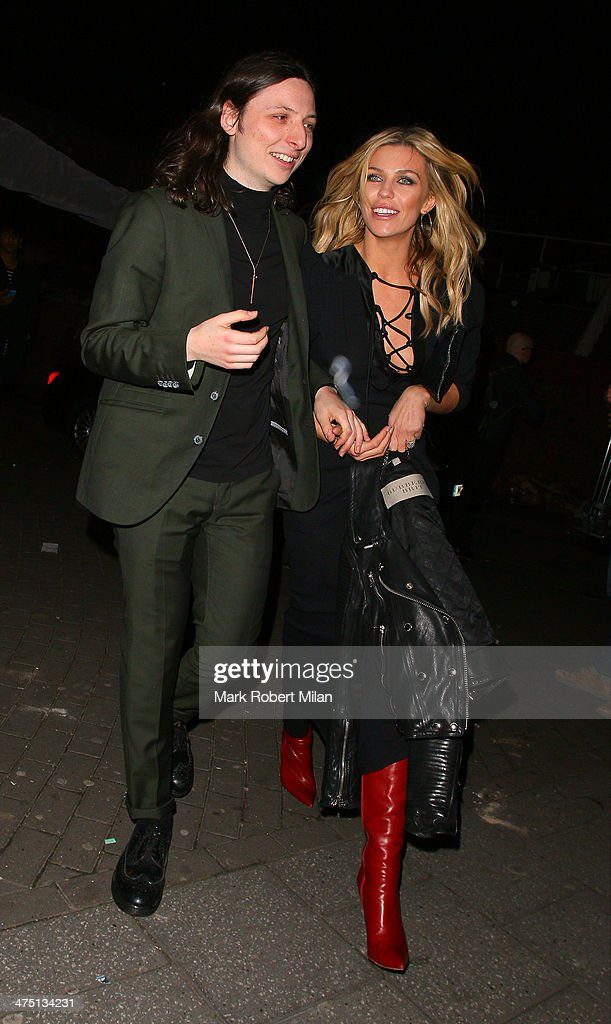 Abbey Clancy attends the NME Awards on February 26, 2014 in London, England.