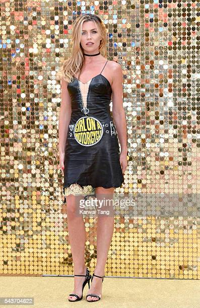 Abbey Clancy attends the World Premiere of 'Absolutely Fabulous The Movie' at Odeon Leicester Square on June 29 2016 in London England
