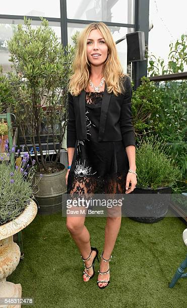 Abbey Clancy attends Warner Music Group Summer party in association with British GQ and Quintessentially on July 6 2016 in London England