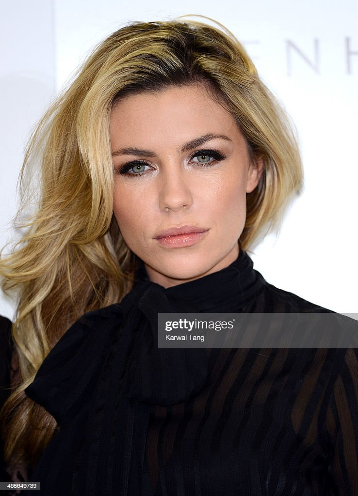 Abbey Clancy launches the new Ultimo Valentines Collection at Debenhams on February 11, 2014 in London, England.