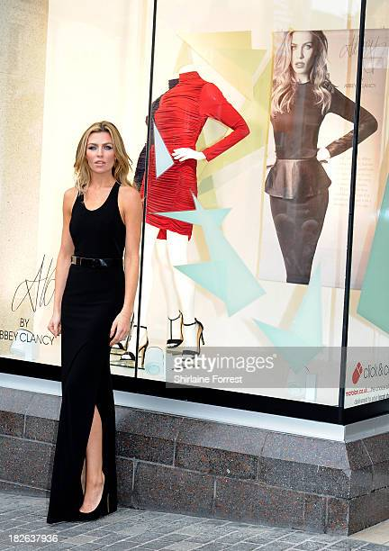 Abbey Clancy opens the new Matalan store at Matalan on October 2 2013 in Liverpool England