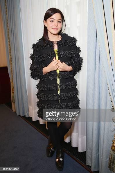 Abbey Hoes during the Shooting Stars 2015 Portrait Session at the 65th Berlinale International Film Festival at Ritz Carlton on February 8 2015 in...