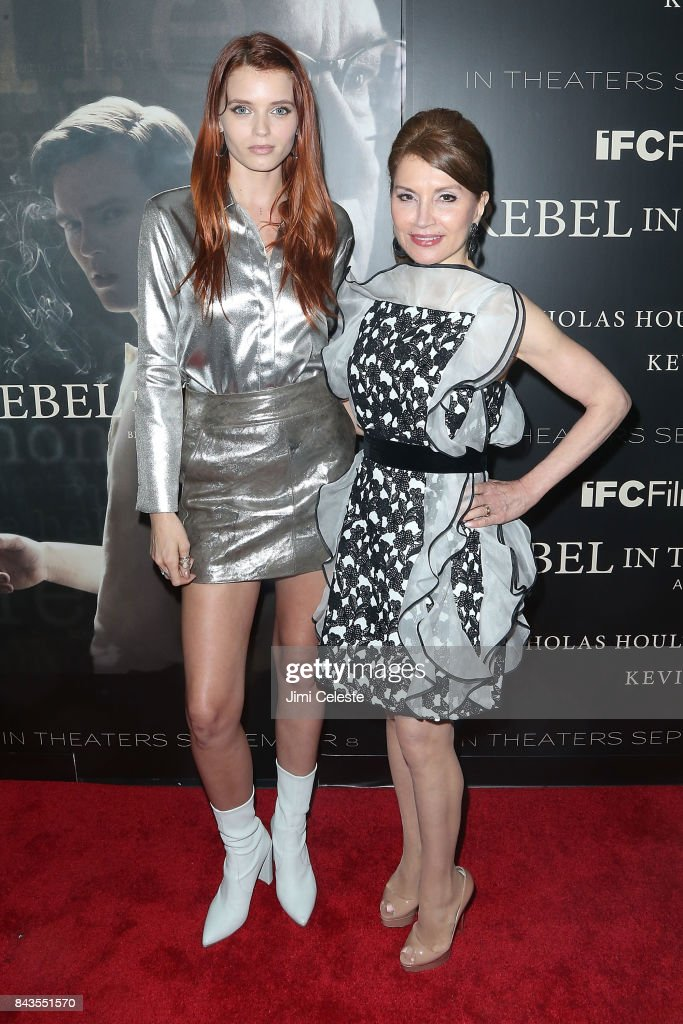 Abbey Lee and Jean Shafiroff attend 'Rebel in the Rye' screening and after party hosted by Jean Shafiroff and IFC Films at Metrograph on September 6, 2017 in New York City.