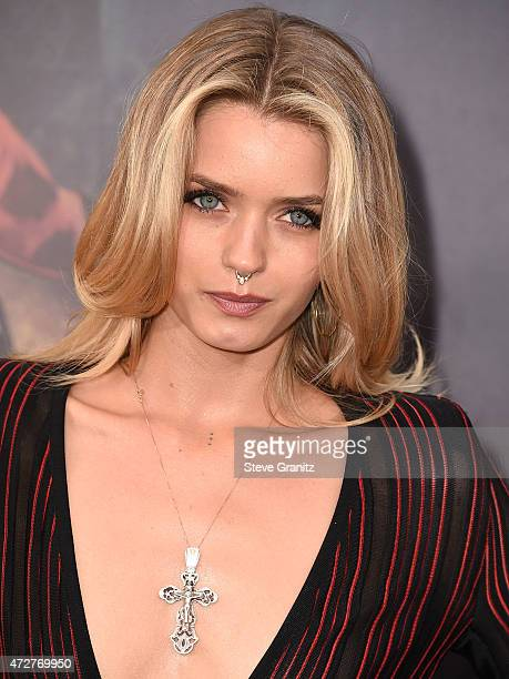 Abbey Lee arrives at the 'Mad Max Fury Road' Los Angeles Premiere at TCL Chinese Theatre IMAX on May 7 2015 in Hollywood California