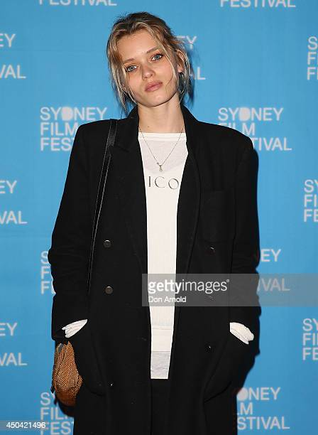 Abbey Lee Kershaw poses at the Australian premiere of the 'The Last Impresario' during the Sydney Film Festival on June 11 2014 in Sydney Australia