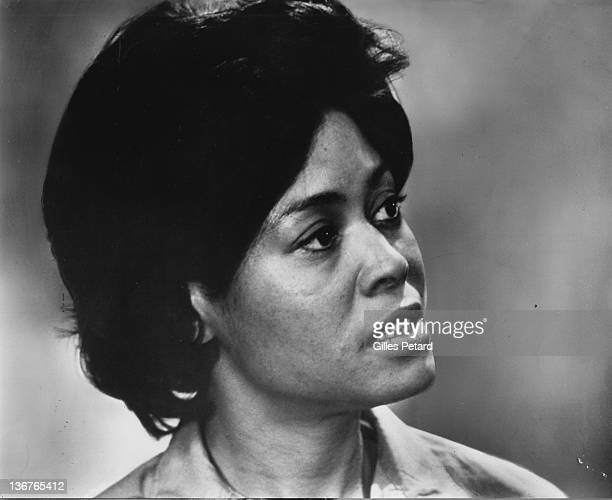 Abbey Lincoln portrait USA 1969