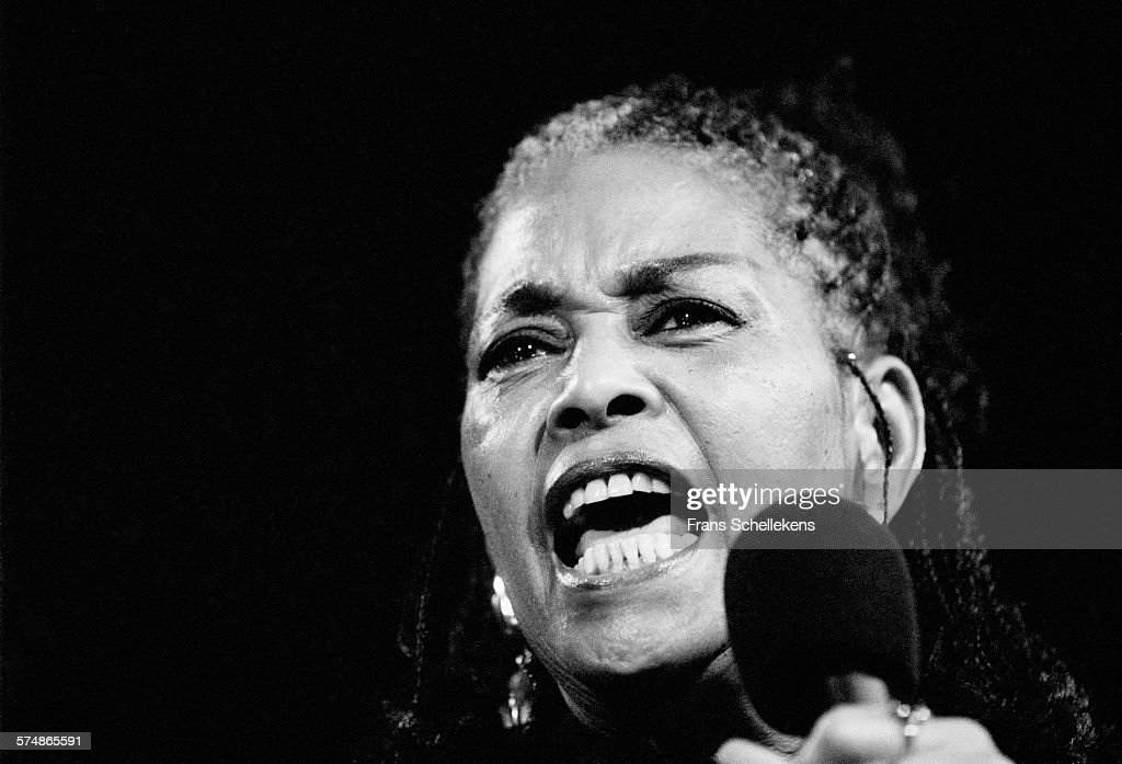 Abbey Lincoln, vocal, performs on July 16th 1995 at the North Sea Jazz Festival in the Hague, the Netherlands.
