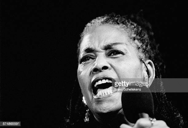 Abbey Lincoln vocal performs on July 16th 1995 at the North Sea Jazz Festival in the Hague the Netherlands