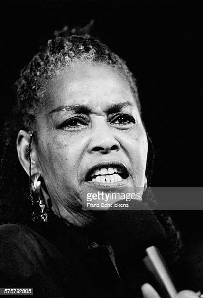 Abbey Lincoln vocal performs on July 16th 1995 at the North Sea Jazz Festival in the Hague Netherlands