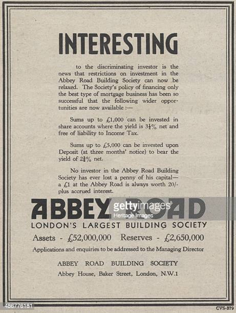 Abbey Road Building Society 1939