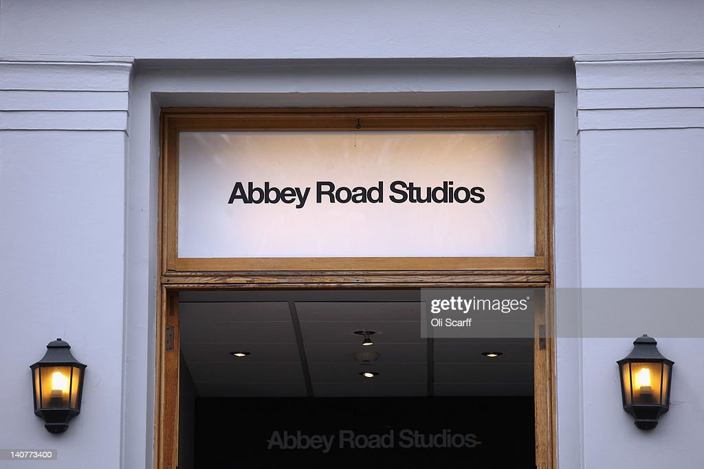 Abbey Road Studios in St John's Wood on March 5, 2012 in London, England. Abbey Road in North London has been made famous by 1960s bands such as The Beatles and Pink Floyd who recorded in Abbey Road Studios. In particular, the cover of The Beatles' 1969 album 'Abbey Road' features the band on the pedestrian zebra crossing outside the studio. The crossing has become a popular destination for Beatles fans from around the world.