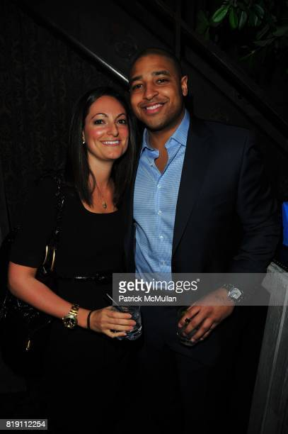 Abbey Tadurgood and CC Cosby attend Charles Maddock Foundation Winter Benefit at Avenue featuring DJ Cassidy at Avenue on March 4 2010 in New York...