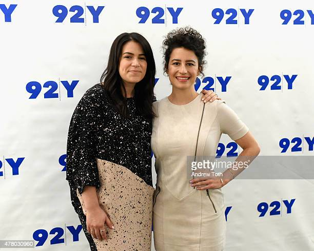 Abbi Jacobson and Ilana Glazer attend 92nd Street Y Presents Abbi Jacobson and Ilana Glazer In Conversation with Amy Ryan at 92nd Street Y on June 21...