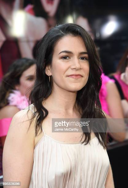 Abbi Jacobson attends New York Premiere of Sony's ROUGH NIGHT presented by SVEDKA Vodka at AMC Lincoln Square Theater on June 12 2017 in New York City
