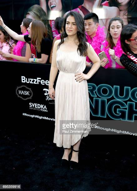 Abbi Jacobson attends the 'Rough Night' New York Premiere on June 12 2017 in New York City