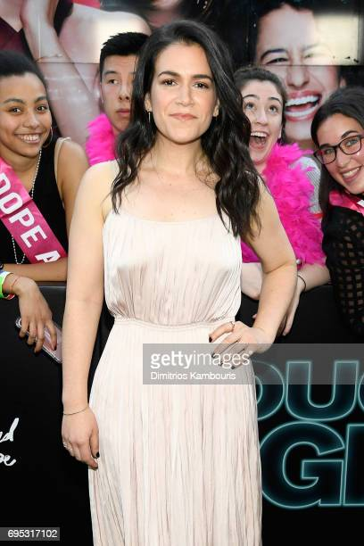 Abbi Jacobson attends the 'Rough Night' premeire at AMC Loews Lincoln Square on June 12 2017 in New York City
