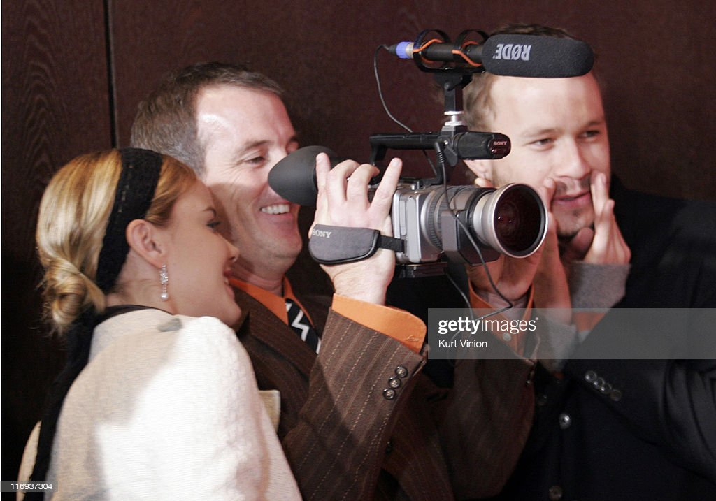 Abbie Cornish and Heath Ledger during 56th Berlinale International Film Festival - 'Candy' - Photocall at Hyatt Hotel in Berlin, Berlin, Germany.