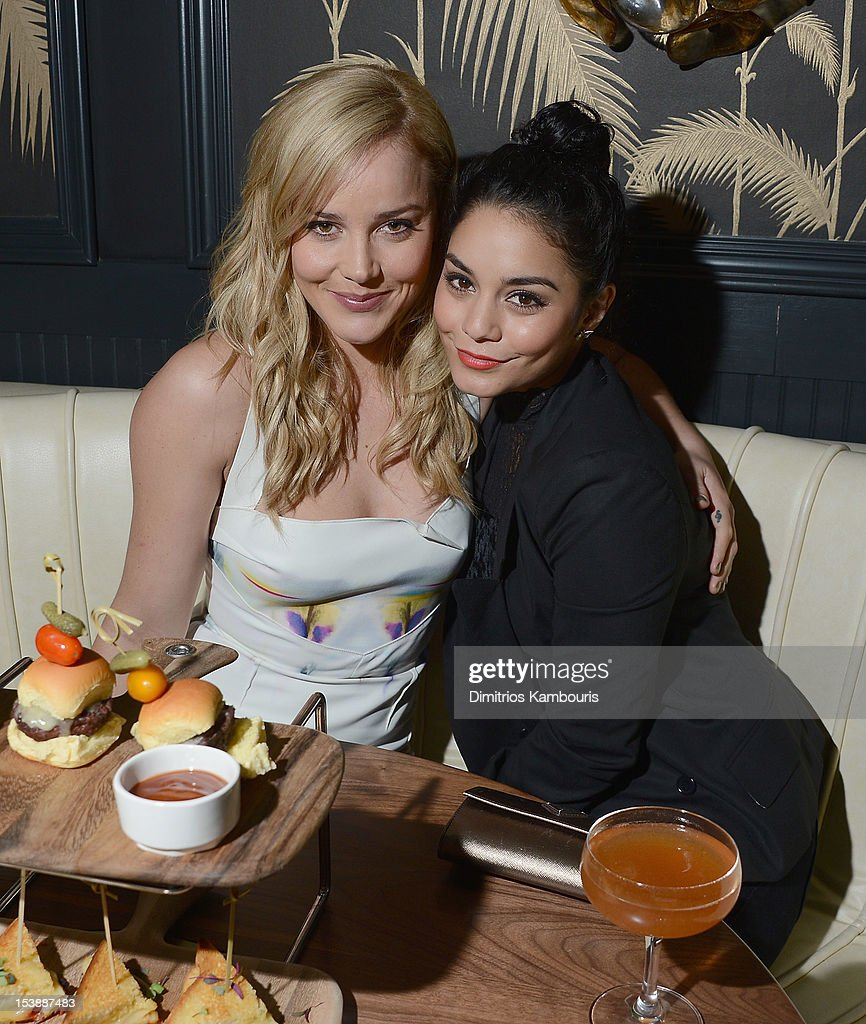 <a gi-track='captionPersonalityLinkClicked' href=/galleries/search?phrase=Abbie+Cornish&family=editorial&specificpeople=213603 ng-click='$event.stopPropagation()'>Abbie Cornish</a> and Vanessa Hudgens attend The Cinema Society with Hugo Boss and Appleton Estate screening of 'Seven Psychopaths' at No. 8 on October 10, 2012 in New York City.