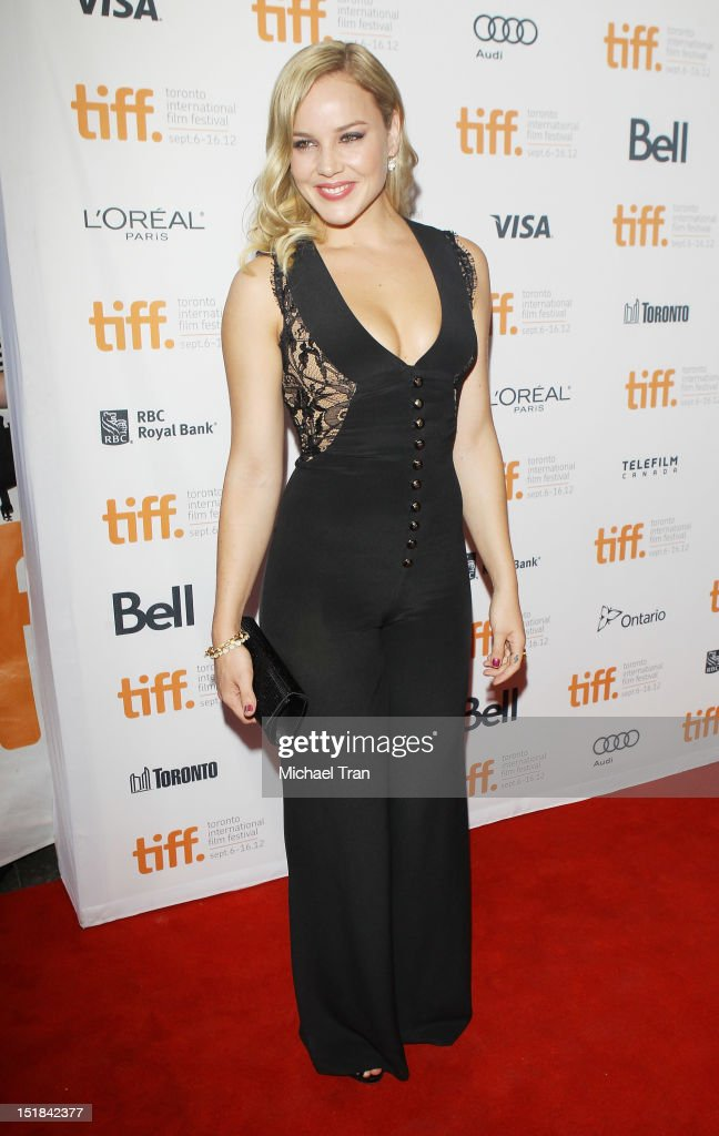 Abbie Cornish arrives at 'Disconnect' premiere during the 2012 Toronto International Film Festival held at Princess of Wales Theatre on September 11, 2012 in Toronto, Canada.