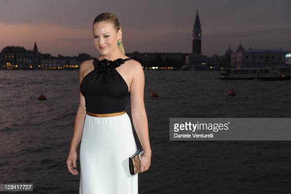 Abbie Cornish attends the 2011 GUCCI Award For Women In Cinema at Hotel Cipriani on September 2 2011 in Venice Italy