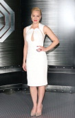 Abbie Cornish attends the 'Robocop' Photocall held at SLS Hotel at Beverly Hills on January 23 2014 in Los Angeles California
