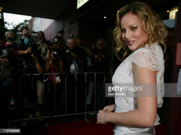 Abbie Cornish attends the Sydney premiere for 'Elizabeth The Golden Age' at the Hayden Orpheum Cremorne on November 3 2007 in Sydney Australia