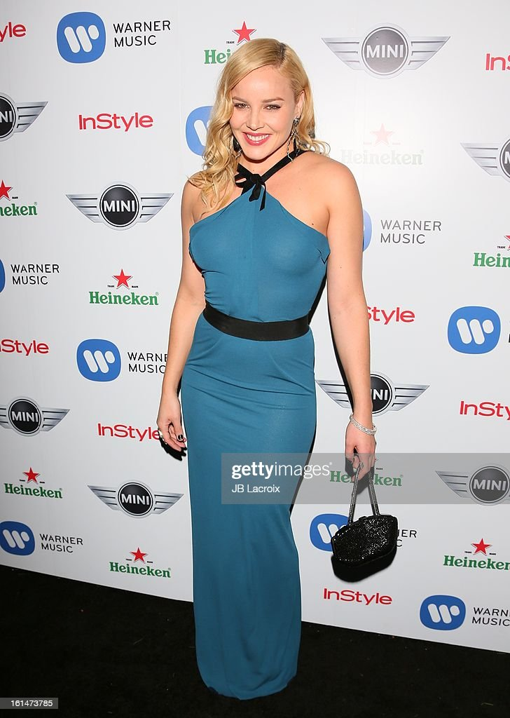 Abbie Cornish attends the Warner Music Group 2013 Grammy Celebration Presented By Mini held at Chateau Marmont on February 10, 2013 in Los Angeles, California.