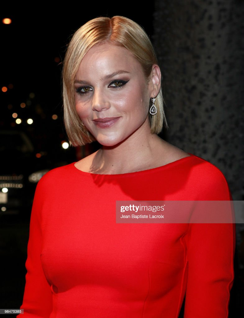 Abbie Cornish is seen in West Hollywood on March 1 2010 in Los Angeles California