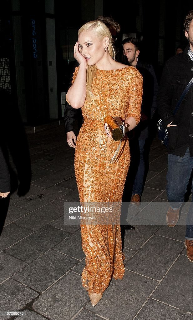 <a gi-track='captionPersonalityLinkClicked' href=/galleries/search?phrase=Abbie+Cornish&family=editorial&specificpeople=213603 ng-click='$event.stopPropagation()'>Abbie Cornish</a> is seen leaving the Royal Festival Hall, South Bank on February 5, 2014 in London, England.