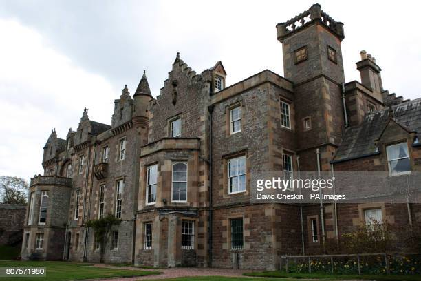 Abbotsford House the home of Sir Walter Scott Abbotsford near Melrose in the Scottish Borders where Scottish Culture minister Fiona Hyslop announced...
