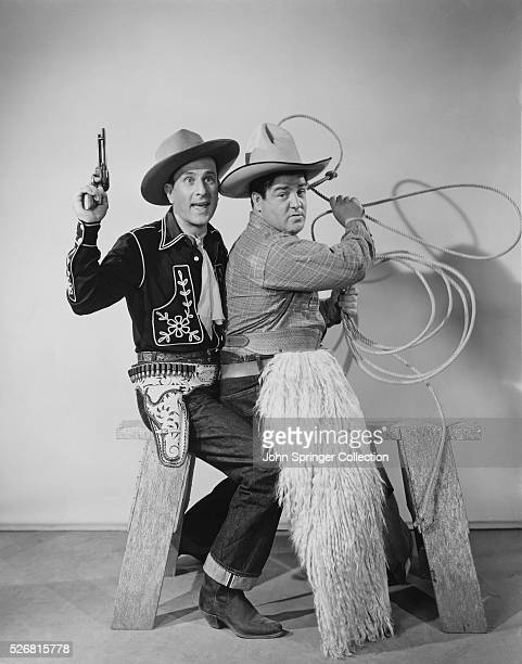 Abbott and Costello in Ride 'Em Cowboy