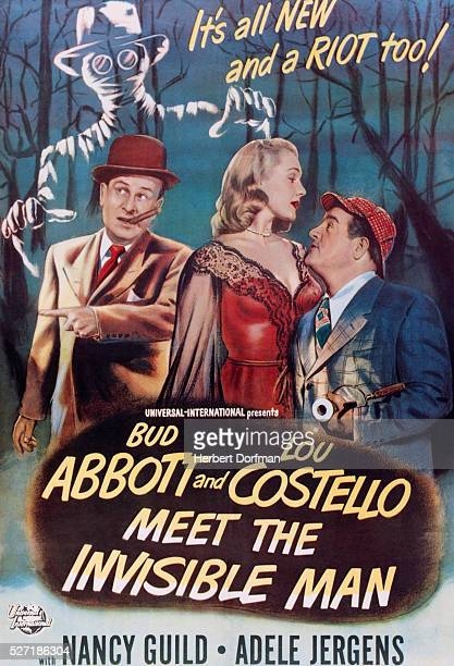 Abbott and Costello Meet the Invisible Man Movie Poster