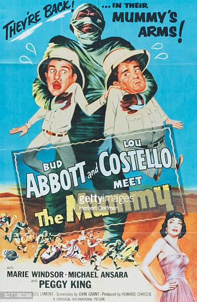 Abbott and Costello Meet the Mummy Movie Poster