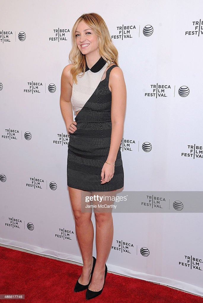 Abby Elliot attends the 'Life Partners' screening during the 2014 Tribeca Film Festival at SVA Theater on April 18, 2014 in New York City.
