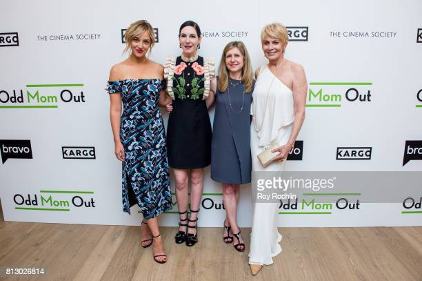 Abby Elliot Jill Kargman Frances Berwick and Joanna Cassidy attend The Cinema Society and Kargo host the season 3 Premiere Of Bravo's 'Odd Mom Out'...