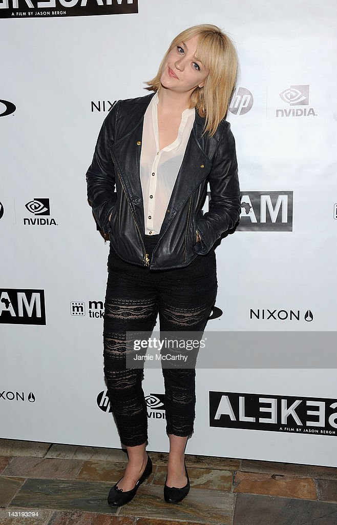Abby Elliott attends the After Party For Jason Bergh's New Film Alekesam at Tribeca Grand Hotel on April 20, 2012 in New York City.