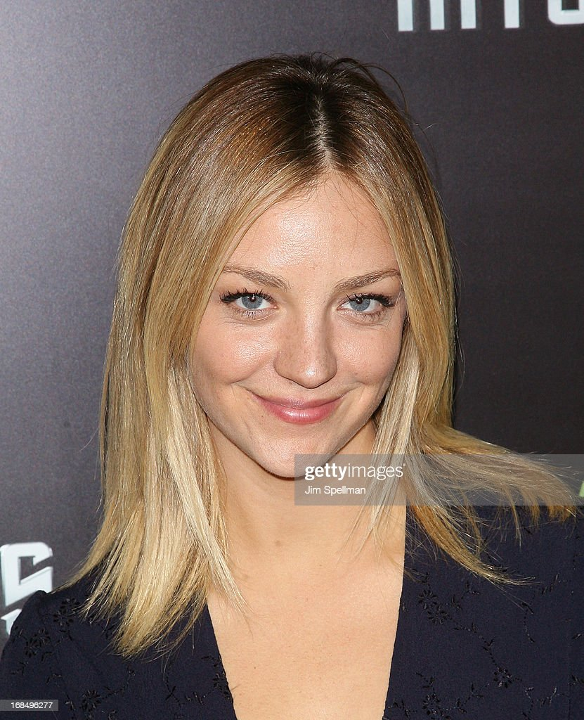 Abby Elliott attends the 'Star Trek Into Darkness' screening at AMC Loews Lincoln Square on May 9, 2013 in New York City.