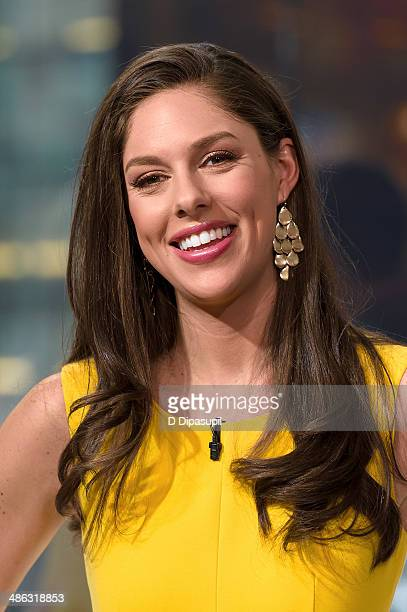Abby Huntsman visits 'Extra' at their New York studios at HM in Times Square on April 23 2014 in New York City