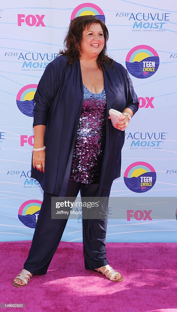 Abby Lee Miller arrives at the 2012 Teen Choice Awards at Gibson Amphitheatre on July 22, 2012 in Universal City, California.