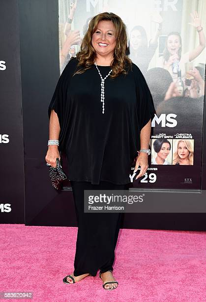 Abby Lee Miller attends the premiere of STX Entertainment's 'Bad Moms' at Mann Village Theatre on July 26 2016 in Westwood California