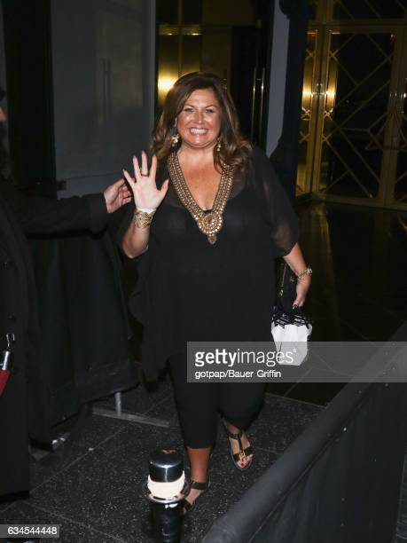 Abby Lee Miller is seen on February 09 2017 in Los Angeles California
