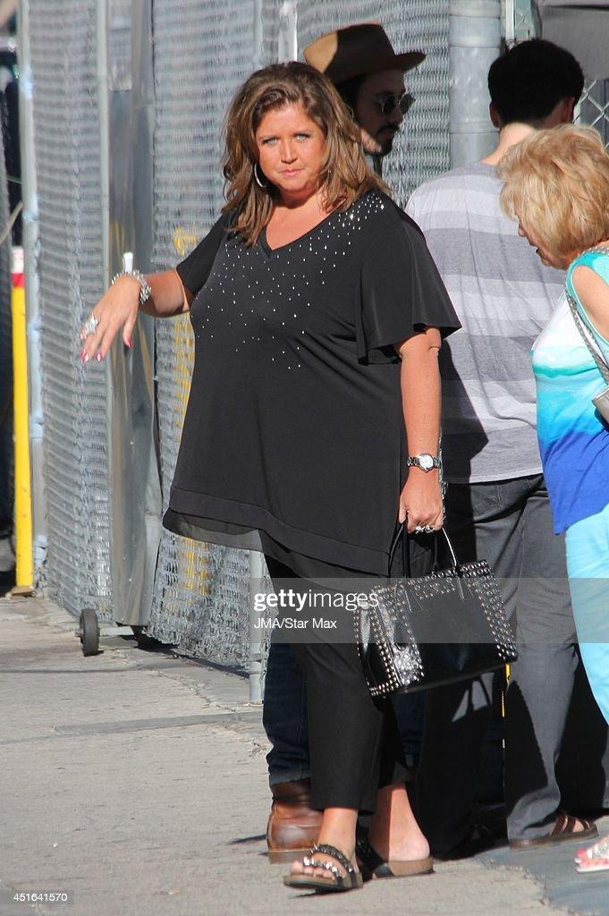 Abby Lee Miller is seen on July 2, 2014 in Los Angeles, California.
