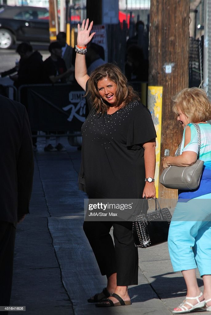 Abby Lee Miller is seen on July 2, 2014 in Los Angeles, California.